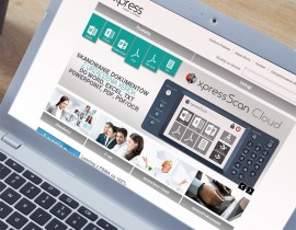 Website Xpress Wrocław Partner Xerox
